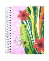 """Картинка к книге Silwerhof - Тетрадь в линейку, 150 листов, """"Цветы"""" (813010-95)"""