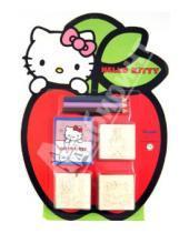 """Картинка к книге Набор с печатями (3шт в блистере) - Набор штампов """"Hello Kitty"""", 3 штуки в блистере (11803)"""