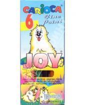 Картинка к книге Universal - Фломастеры CARIOCA JOY 6 цветов (40613)