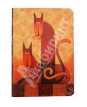 """Картинка к книге Modo Arte. Cats - Бизнес-блокнот """"Cats"""", Modo Arte А5- (6097)"""