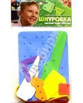 Картинка к книге Мягкий конструктор - Шнуровка. Пейзаж (103006)