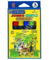 """Картинка к книге Фломастеры 6 цветов (1-8) - Маркеры 6 цветов """"JUMBO-COLORFIX"""" экологически чистые (8515/06)"""