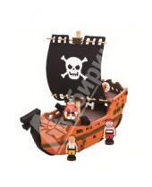 """Картинка к книге Bebox - 3D пазл. Мягкий конструктор, 41 деталь """"Пиратский корабль"""" (М5950)"""