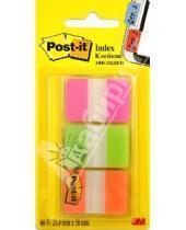 Картинка к книге POST-IT - Клейкие закладки. 3 неоновых цвета (686PGO)