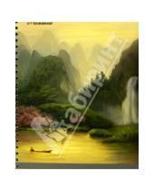 """Картинка к книге Silwerhof - Тетрадь в клетку, 80 листов """"Fantasy Land"""", на спирали, 4 вида (811453-75)"""