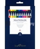 """Картинка к книге Bruno Visconti - Фломастеры """"Multicolor"""" (12 цветов) (32-0002)"""