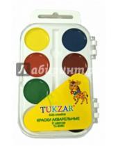 Картинка к книге TUKZAR - Краски акварельные (8 цветов) (TZ 8080)