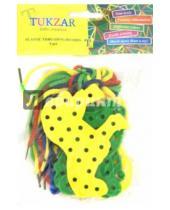 Картинка к книге TUKZAR - Набор шнуровок Животные (8 штук) (TZ 15326)