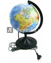 Картинка к книге TUKZAR - Глобус Земли физико-политический с подсветкой (диаметр 210 ) (ГЗ-210ф-пп)