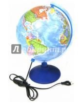 Картинка к книге TUKZAR - Глобус Земли политический с подсветкой (диаметр 250) (ГЗ-250пп)
