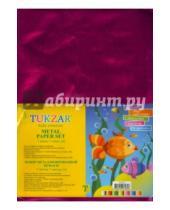 Картинка к книге TUKZAR - Набор металлизированной цветной бумаги, 7 листов (TZ 8147)