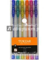 Картинка к книге TUKZAR - Набор ручек гелевых. Суперметалик с блестками. 6 цветов (TZ 144- 6)