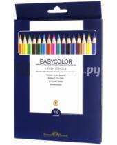 """Картинка к книге Bruno Visconti - Карандаши цветные """"Easycolor"""" (18 цветов, трехгранные) (30-0029)"""