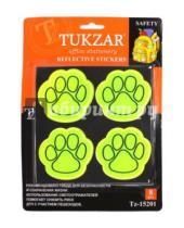 Картинка к книге TUKZAR - Набор светоотражающих фигурных фликер наклеек (8 штук) (TZ 15201)