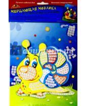 """Картинка к книге АппликА - Мерцающая мозаика """"Веселая улитка"""" (А5) (С2420-04)"""