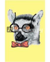 """Картинка к книге Блокноты Like - Блокнот для записей """"Удивленный лемур"""" (А5)"""