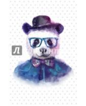 """Картинка к книге Блокноты Like - Блокнот для записей """"Добрая панда"""" (А5)"""