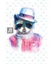 """Картинка к книге Блокноты Like - Блокнот для записей """"Умный енот"""" (А5)"""
