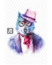 "Картинка к книге Блокноты Like - Блокнот для записей ""Хитрый волк"" (А5)"