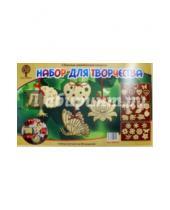 """Картинка к книге Новый год - Сборная деревянная модель. Набор для творчества """"Новогодние игрушки"""" (80022)"""