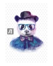 """Картинка к книге Блокноты Like - Блокнот для записей """"Добрая панда"""""""