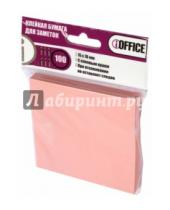 Картинка к книге IOFFICE - Клейкая бумага для заметок, 76*76 мм, 100 листов, розовая (I-7676-12)