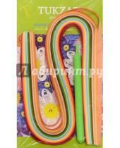 Картинка к книге TUKZAR - Набор цветных бумажных полосок для квиллинга, 120 штук (TZ 12850)