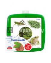 """Картинка к книге Miniland Educational - Обучающие пластиковые пазлы """"Цвета. Зеленый"""" (35253)"""