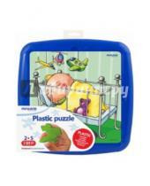 """Картинка к книге Miniland Educational - Обучающие пластиковые пазлы """"Готовимся ко сну"""" (35341)"""