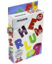 """Картинка к книге Miniland Educational - Обучающий набор """"Магнитные английские заглавные буквы"""", 64 элемента (97925)"""