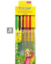Картинка к книге TUKZAR - Набор ручек гелевых суперметаллик, 6 цветов (TZ 5208- 6)