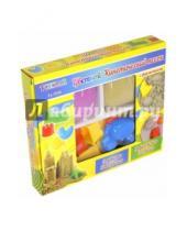 Картинка к книге TUKZAR - Песок кинетический цветной с формочками, 2 пакета * 300 гр (TZ 3534)