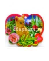 Картинка к книге Праздник - 61326/С любовью/мини-открытка сердечко