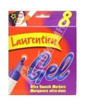 Картинка к книге LAURENTIEN - Фломастеры 8 цветов Laurentien 20201 (гелевые)