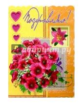 Картинка к книге Стезя - 1Т-041/Поздравляю/открытка-гигант