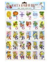 Картинка к книге Магнитные карточки - Касса букв и цифр на магнитах