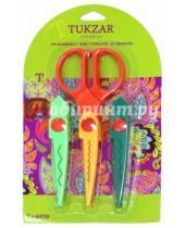 Картинка к книге TUKZAR - Ножницы со сменными фигурными лезвиями (TZ 6930)