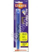 Картинка к книге PAPER MATE - Ручка шариковая Lights 12103 (синяя)