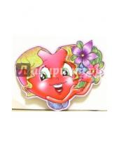 Картинка к книге Стезя - 7Т-023/мини-открытка сердечко